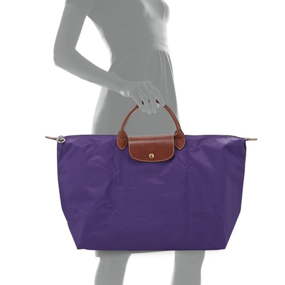 b5ca05b1089 Longchamp Handbags - Longchamp Large Travel Tote, Purple